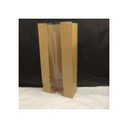 Paperipussi, 22+11x28cm, leveä pohja